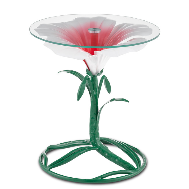 Hibiscus Accent Table  by Currey and Company