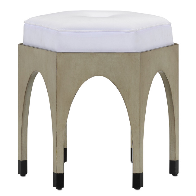 Dyer Ottoman  by Currey and Company