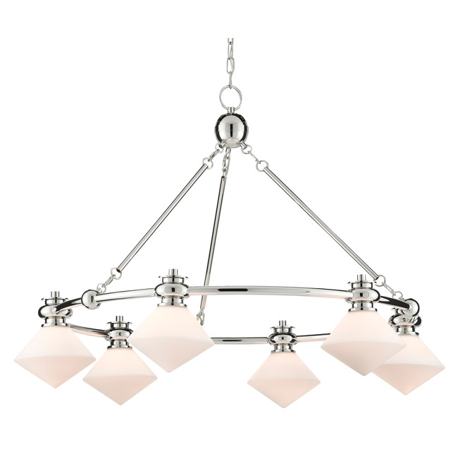 Rycroft Chandelier  by Currey and Company