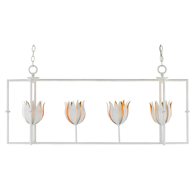 Tulipano Linear Pendant  by Currey and Company