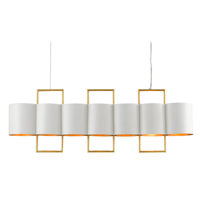 Chaunce Linear Chandelier  by Currey and Company