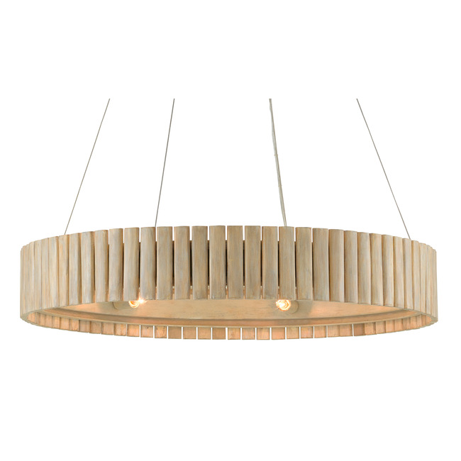 Tetterby Round Pendant  by Currey and Company