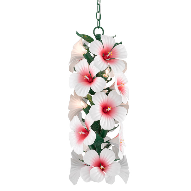 Hibiscus Pendant  by Currey and Company