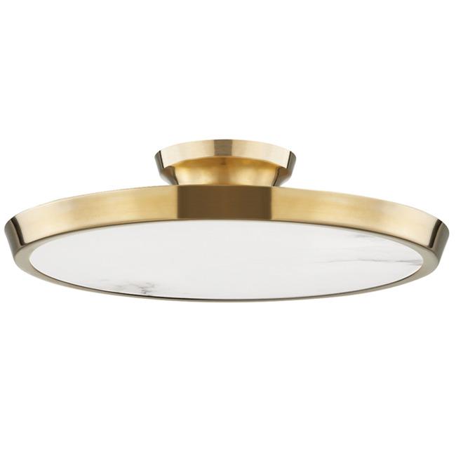 Draper Semi Flush Ceiling Light  by Hudson Valley Lighting