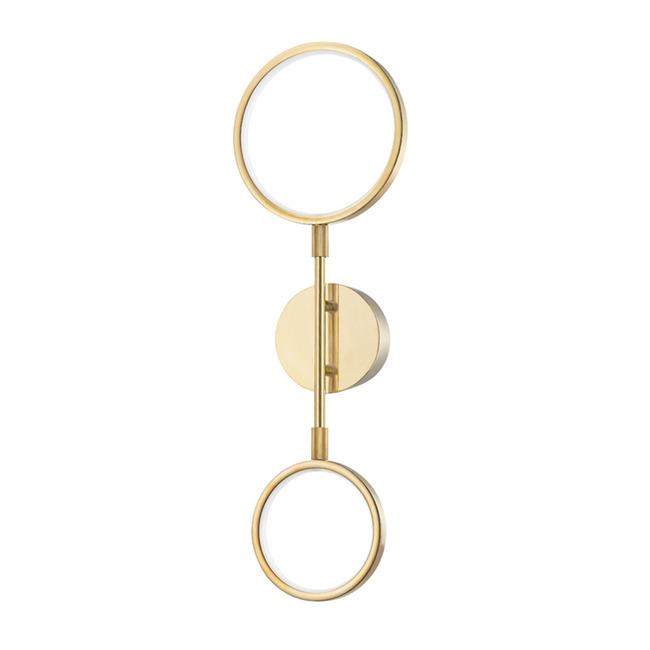 Saturn Wall Sconce  by Hudson Valley Lighting