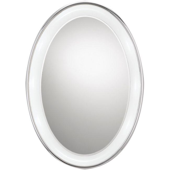 Tigris Oval Recessed Mirror by Tech Lighting | 700BCTIGOR24C