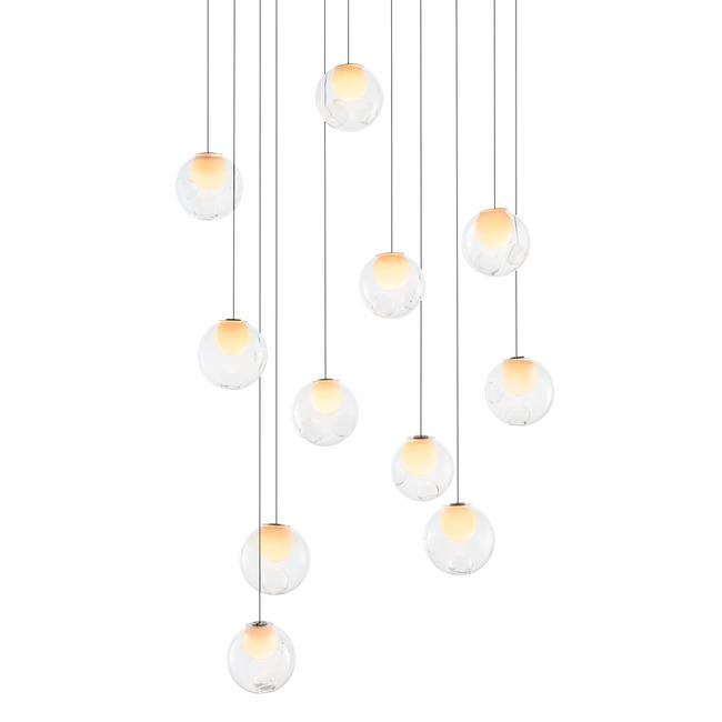 Series 28 Rectangle Multi Light Pendant  by Bocci