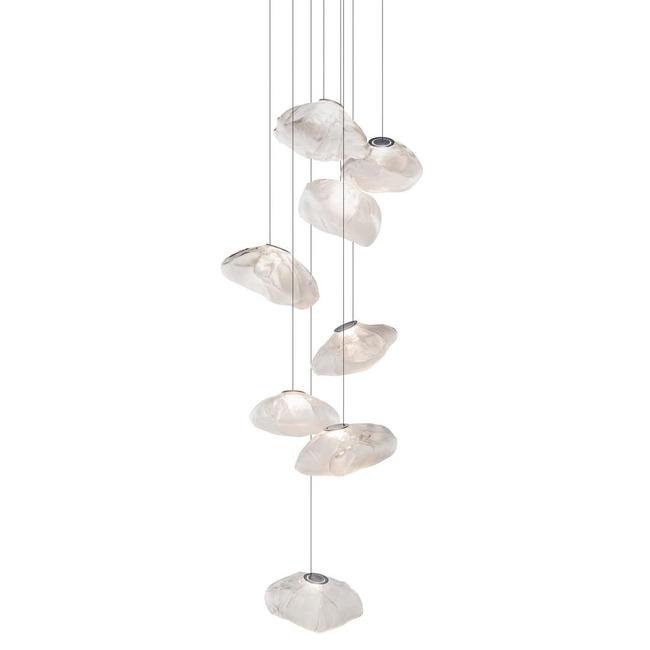 Series 73 Round Multi Light Pendant  by Bocci