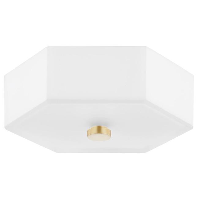 Lizzie Flush Ceiling Light  by Mitzi