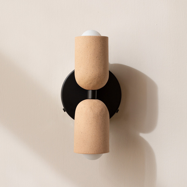 Ceramic Up Down Wall Sconce  by In Common With