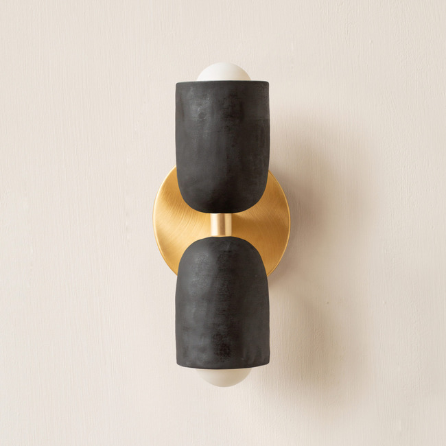 Ceramic Up Down Slim Wall Sconce  by In Common With