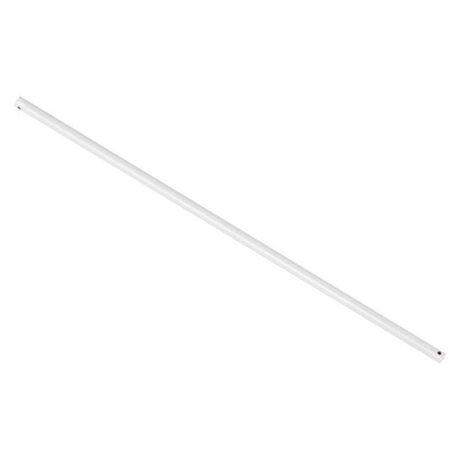Lucci Air White Downrod for Climate and Nordic Fans  by Beacon Lighting