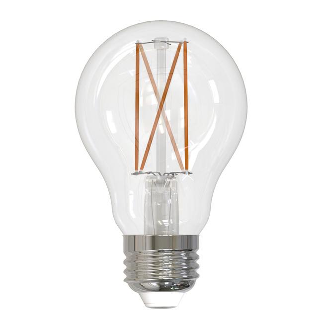A19 Med Base Filament 8.5W 120V 2700K 90CRI 2-PACK  by Bulbrite