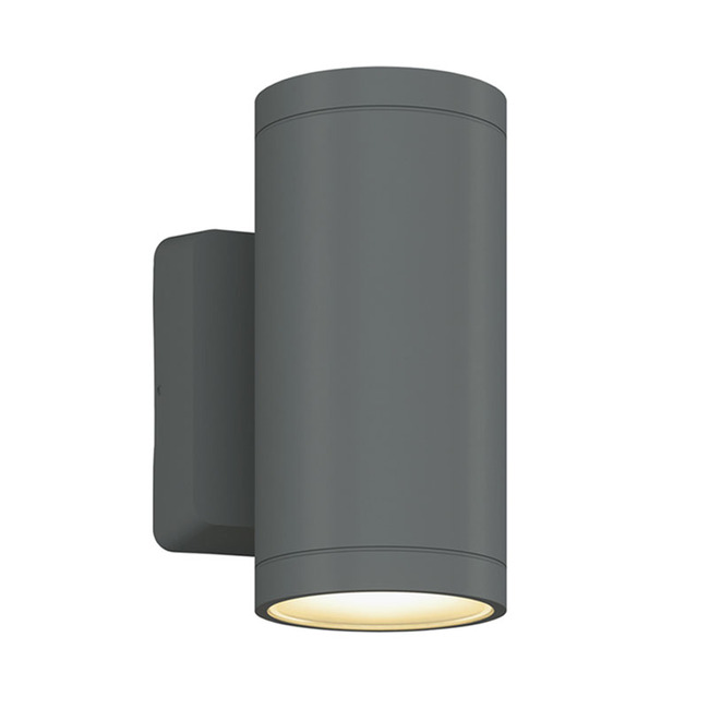 Outdoor Cylinder 4 inch Up and Down Wall Light  by Bruck