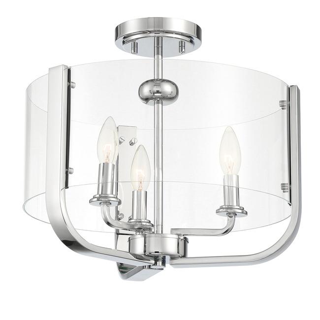 Campisi Semi Flush Ceiling Light  by Eurofase
