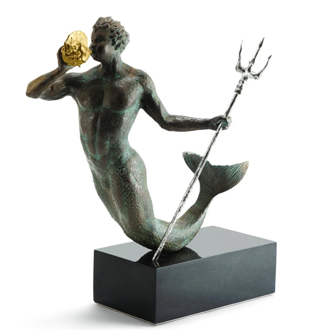 Triton Sculpture  by Michael Aram