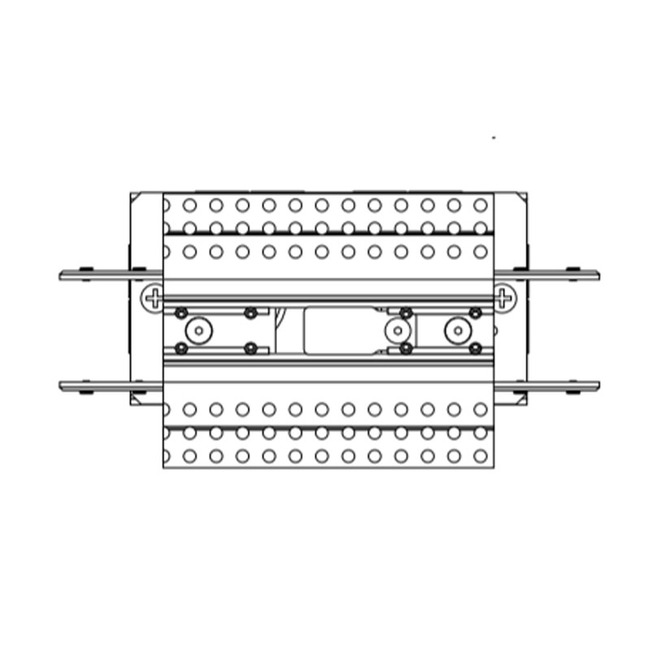 TruTrack 2-Circuit Center Power Feed  by PureEdge Lighting