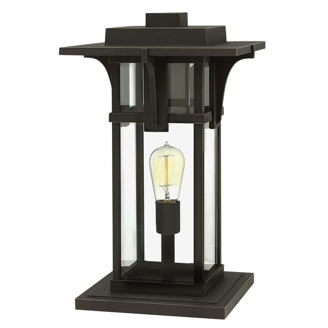 Manhattan 12V Outdoor Pier Mount Lantern  by Hinkley Lighting