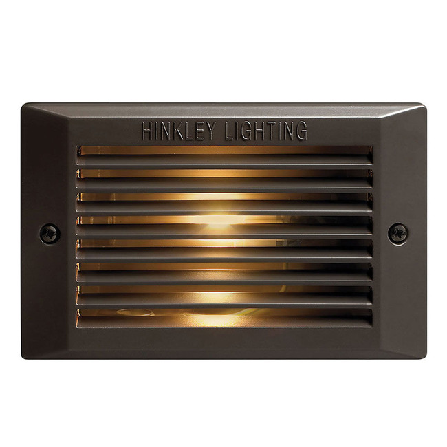 120V Louvered Step Light  by Hinkley Lighting