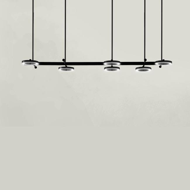 Leroyer 02 Linear Chandelier  by Larose Guyon