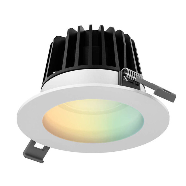 4IN Round Smart RGB+Tunable White Recessed Light  by DALS Lighting