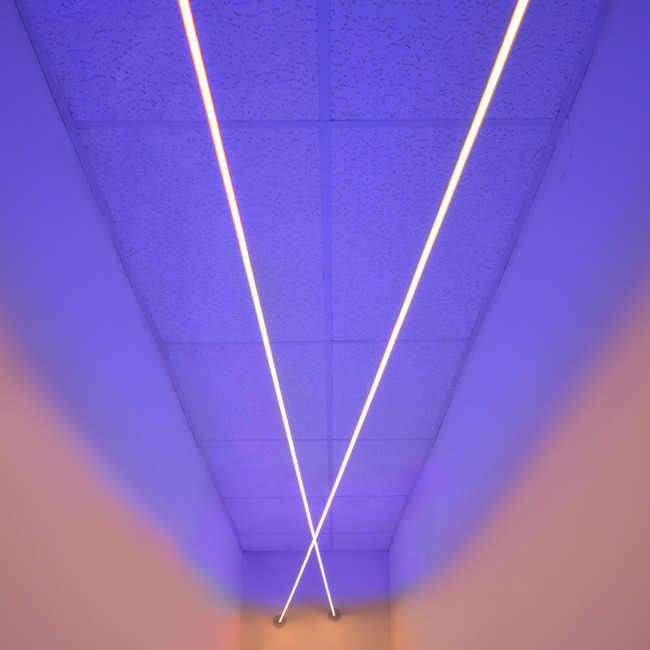 Lazer Line Direct / Indirect RGB Suspended System 24VDC  by PureEdge Lighting