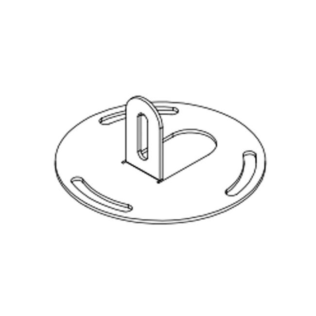 Calypso Floor Anchoring Accessory  by Contardi