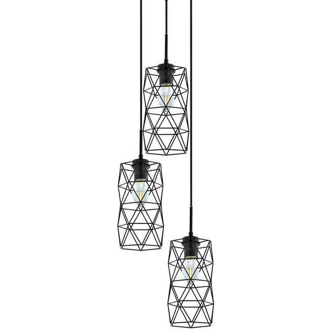 Estevau Multi Light Round Pendant  by Eglo