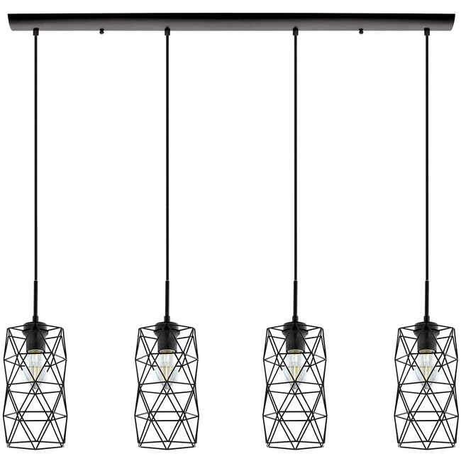 Estevau Multi Light Linear Pendant  by Eglo