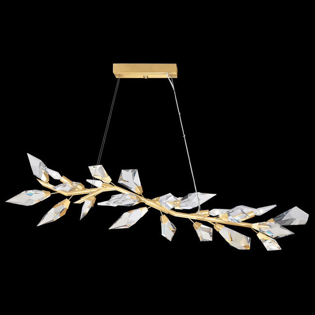 Foret Linear Pendant  by Fine Art Handcrafted Lighting