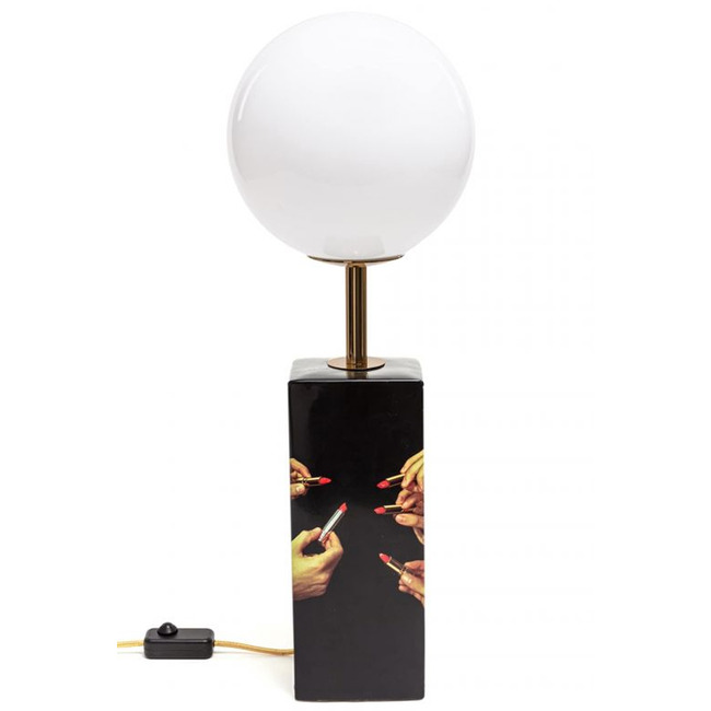 Lipstick Table Lamp  by Seletti