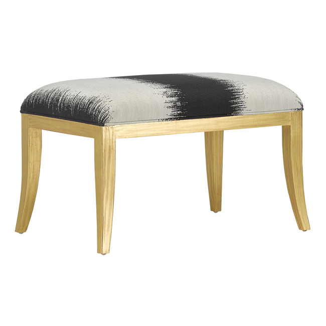 Garson Ottoman  by Currey and Company