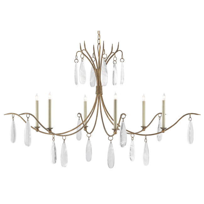 Marshallia Chandelier  by Currey and Company