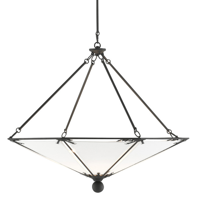 Ledoux Chandelier  by Currey and Company