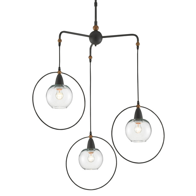 Moorsgate Pendant  by Currey and Company