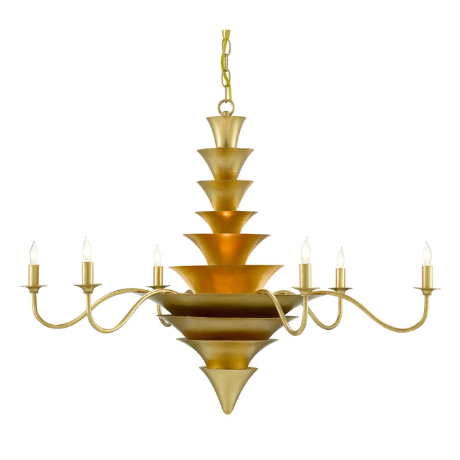 Sillage Chandelier  by Currey and Company