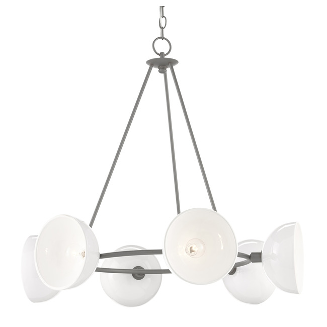 Soba Chandelier  by Currey and Company