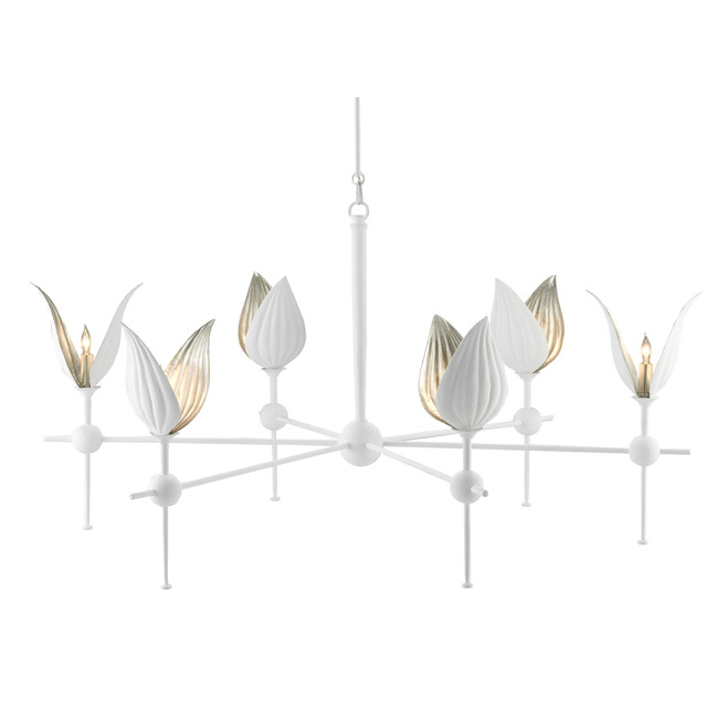 Peace Lily Chandelier  by Currey and Company
