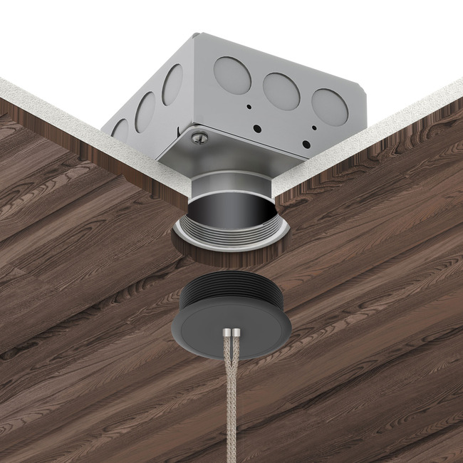 Vanishing Point 24VDC Dual Cable System for Millwork  by PureEdge Lighting