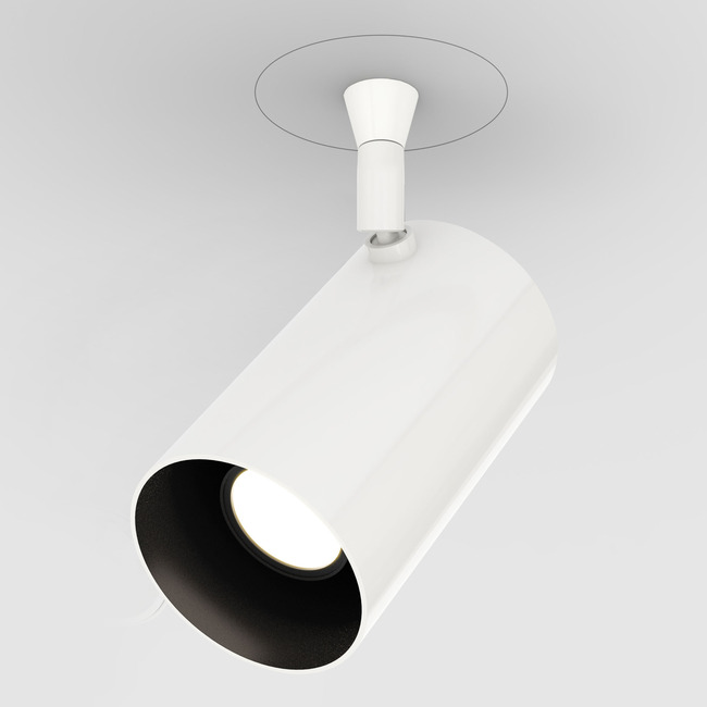 Vanishing Point Scope Plaster-in System with Power  by PureEdge Lighting