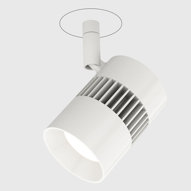 Vanishing Point Radiant Plaster-in System with Power  by PureEdge Lighting