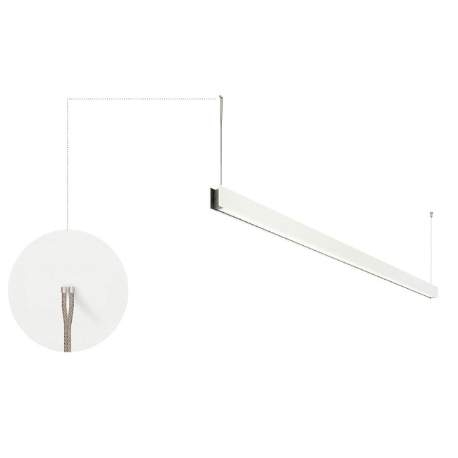 Vanishing Point 24VDC Dual Cable System for Drywall  by PureEdge Lighting