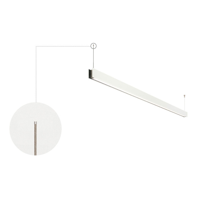 Vanishing Point 24VDC Ceiling Connection System for Drywall  by PureEdge Lighting
