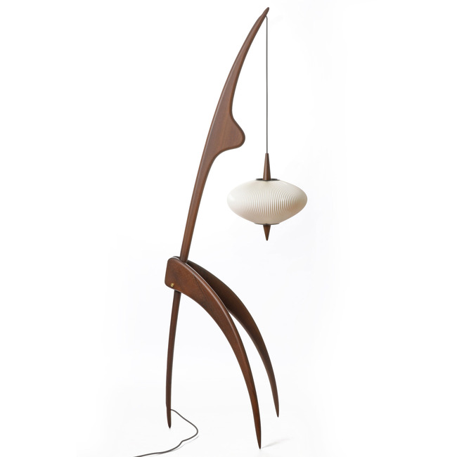 The Praying Mantis Floor Lamp  by Rispal