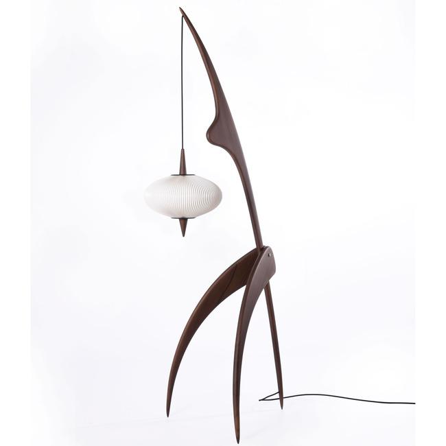 The Praying Mantis Floor Lamp  by Rispal