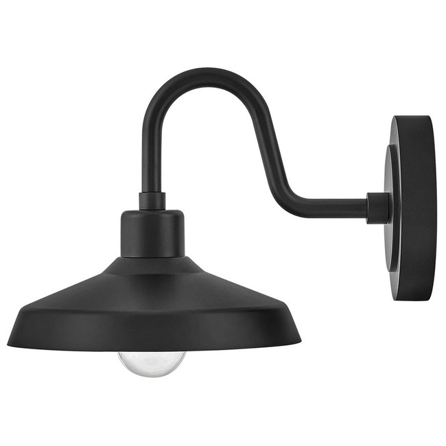 Forge Gooseneck Outdoor Wall Light  by Hinkley Lighting
