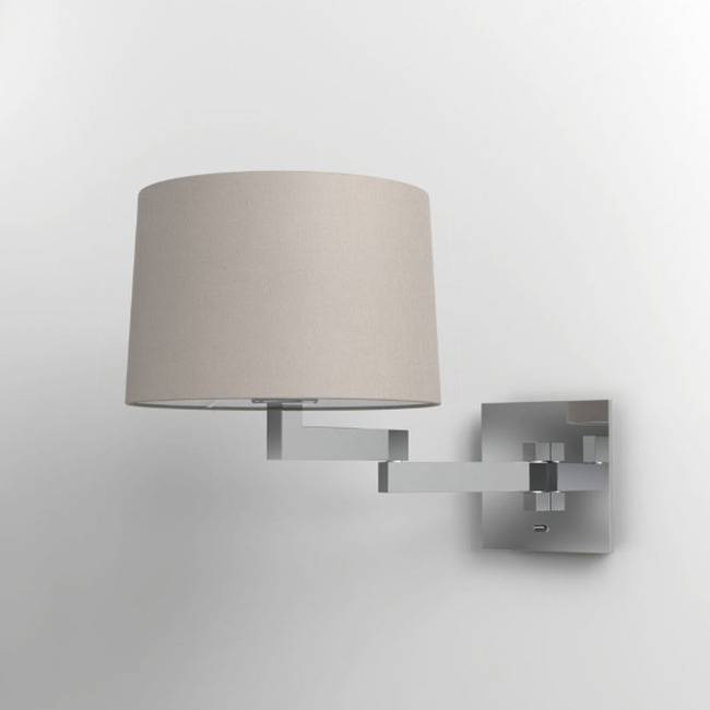 Momo Swing Arm Wall Sconce - Overstock  by Astro Lighting