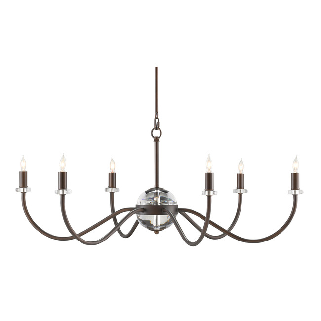 Salerio Chandelier  by Currey and Company