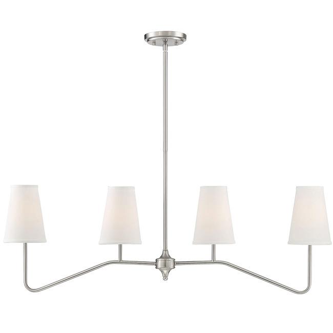 Daphne Linear Chandelier  by Modern Lighting