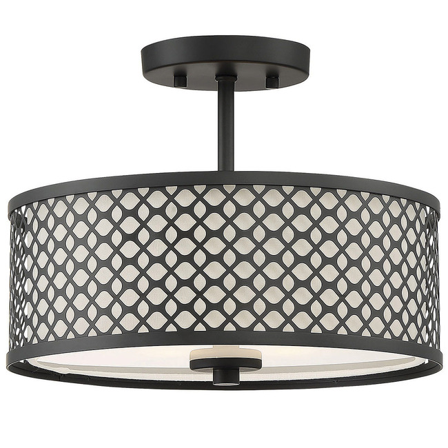 Harris Semi Flush Ceiling Light  by Modern Lighting